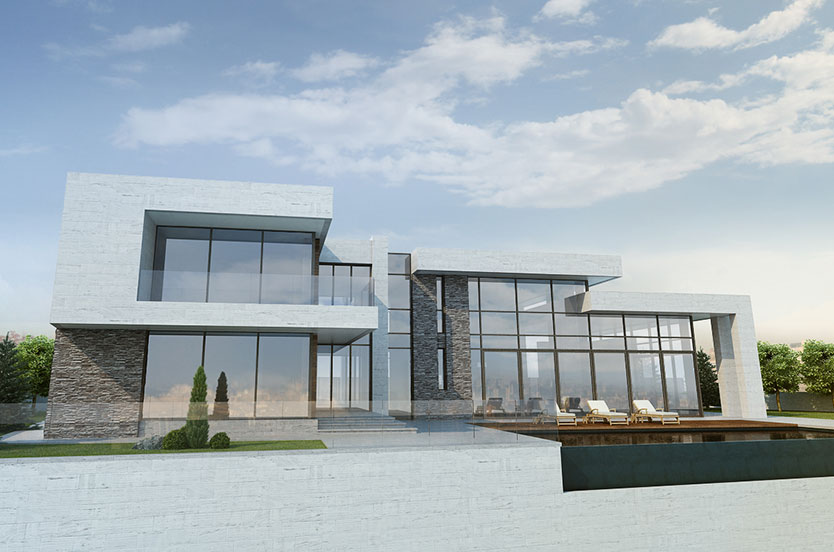 Referentie project House in Armenie